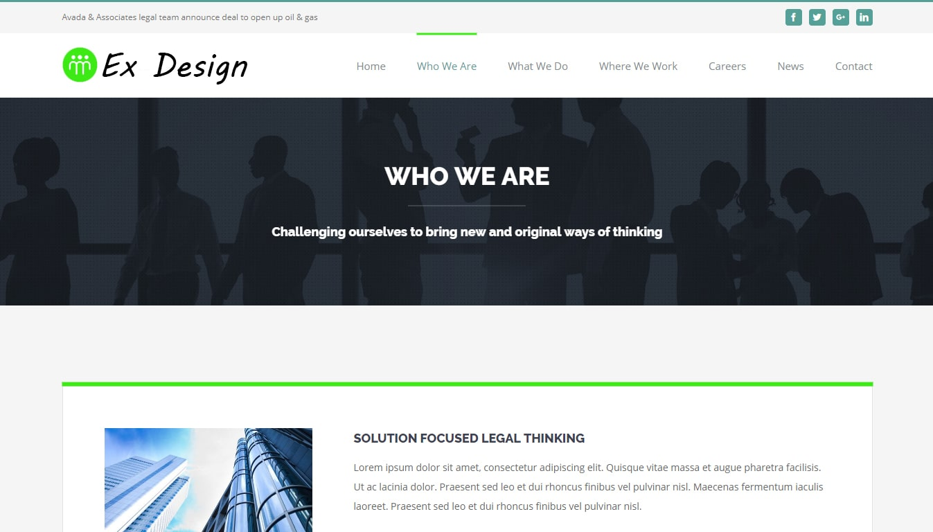 Ex Design Site